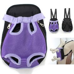 Multi-Color Choice Travel Cat Pet Puppy Dog Nylon Net Front Carrier Backpack Bag Case Small Size - http://www.thepuppy.org/multi-color-choice-travel-cat-pet-puppy-dog-nylon-net-front-carrier-backpack-bag-case-small-size/