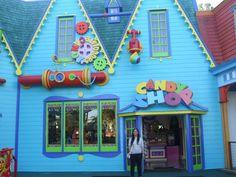 Candy Shopping at Dreamworld Theme Park