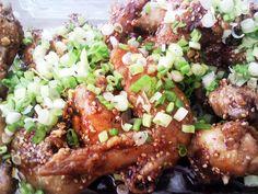 Elizabeth' dakkangjung (fried crispy chicken) by maangchi, via Flickr