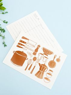 Copper foiled recipe cards to organise my special recipes We Are The Ones, Rifle Paper Co, 2021 Calendar, Special Recipes, Recipe Cards, Design Reference, Stationery, Iphone Cases, Copper