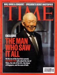 Yes LKY THE MAN WHO SAW IT ALL!
