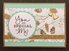 Special pines card by Rebecca Oreskovich
