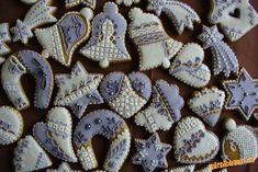 Christmas Cookie Icing, Christmas Sweets, Christmas Baking, All Things Christmas, Cookie Decorating, Make It Simple, Gingerbread, Treats, Cake