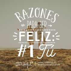 ¿Algún romanticón en la sala? #mrwonderfulshop #felizsábado  Reasons to be happy: 1 YOU. Any soppy souls in the house?