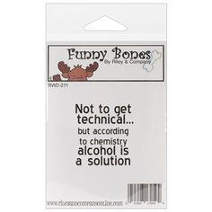 """""""Riley & Company Funny Bones Cling Mounted Stamp 1.25""""""""X1.75"""""""""""" (129512)   Create and Craft"""
