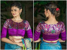 Best 10 blouse designs from house of blouse Stylish Dress Designs, Stylish Blouse Design, Fancy Blouse Designs, Kerala Saree Blouse Designs, Saree Blouse Neck Designs, Brocade Blouse Designs, Mary Janes, House Of Blouse, Sumo