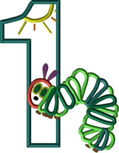 BIG SALE One Caterpillar Applique Embroidery Machine Design 3 Hoop sizes Instant Download by appliqueswcharacter on Etsy
