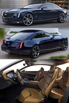 The 2013 Cadillac Elmiraj Concept! [Caddy, build this shit!]