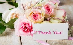 thank you wallpaper Good Morning Cards, Good Morning Quotes, Thank You Wallpaper, Latest Good Morning Images, Thank You Flowers, Blessed Friday, Love In Islam, Different Shades Of Pink, Rose Bouquet