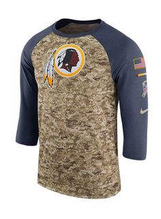 927b07952 Nike Redskins Salute To Service Camo T-Shirt | Redskins Team Store