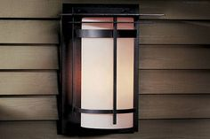 Banded Aluminum Outdoor Sconce With Top Plates By Hubbardton Forge