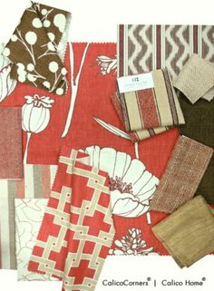 Thom Filicia Fabric Collection, Poppy