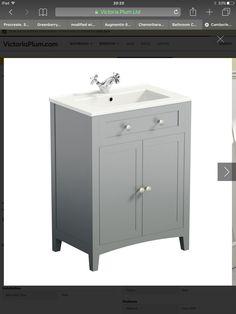 Victoria plum sink cabinet