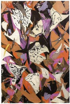 Lee Krasner | Bald eagle | 1955
