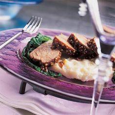 Pork Tenderloin with Apricot Chutney | MyRecipes.com