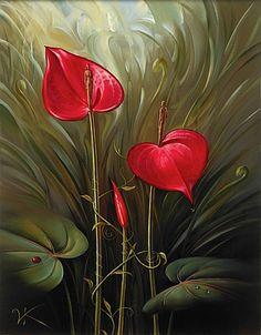 """Vladmir Kush's """"Garden of Eden"""""""