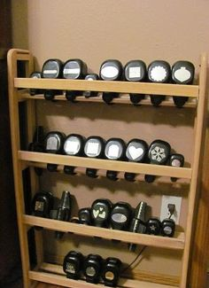 Now I know how to store my punches so I can see them!!!  Great idea.