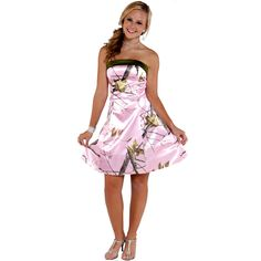 camo wedding dresses   Pink mossy oak camo wedding dresses