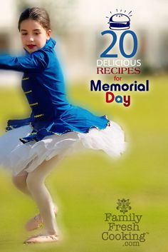 20 Healthy & Delicious Memorial Day Recipes on FamilyFreshCooking.com photos and recipes © MarlaMeridith.com