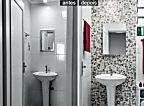 Pintura de azulejos renova banheiros e cozinhas. É fácil de fazer desde que a tinta certa seja escolhida.