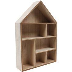 Wooden House Shelf 30 X 45 X 8 Cm | Hobbycraft