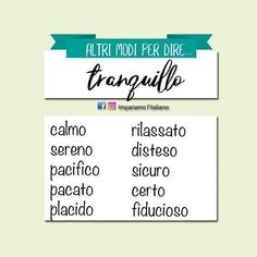 Other words for happy Italian Grammar, Italian Vocabulary, Italian Words, Italian Quotes, Italian Language, Vocabulary Words, Italian Online, Learn To Speak Italian, Everyday Italian