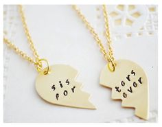 Sisters Gifts - Sister Necklace - Big Sister Necklace - Little ...