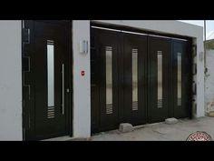 #163`® Entrega de portón Moderno Contemporáneo... - YouTube