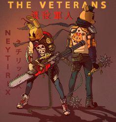 The Veterans fnaf meme memes dankmemes edgy anime dank cringe humor lmao mlg dankmeme funny triggered filthyfrank papafranku johncena ayylmao wtf kek autism weeaboo autistic jetfuelcantmeltsteelbeams funnymeme lmfao savage lol Five Nights At Freddy's, Arte Copic, Character Art, Character Design, Fnaf Sl, Fnaf Characters, Fnaf Sister Location, Fnaf Drawings, Anime Fnaf
