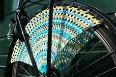 Beautiful crocheted dress guards by Simeli.nl