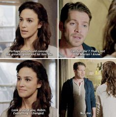 """I had a feeling something was up with her, and it wasn't because I can't stand Marian. Robin and Marian - 4 * 17 """"Heart of Gold """""""