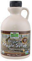 NOW Foods Organic Maple Syrup Grade B -- 32 fl oz - http://goodvibeorganics.com/now-foods-organic-maple-syrup-grade-b-32-fl-oz/