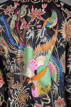 shop sale / 1930s chinese robe / silk robe by PrettyLittleWorldVtg