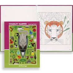 charley harper 50 drawings coloring book charley harper pinterest colour book drawings and artist - Charley Harper Coloring Book