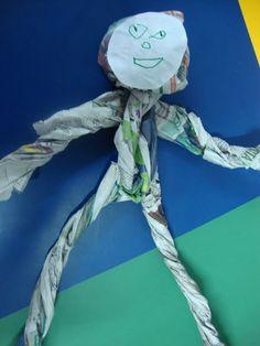 boneco corpo humano - Atividades para Educação Infantil