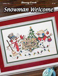 Leaflet 185 Snowman Welcome – Stoney Creek Online Store