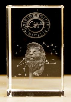 Buy Laser Crystal -Leo wholesale at ancientwisdom.biz Wholesale Star Sign Laser Blocks Wholesale Star Sign Laser Blocks.Each Laser Crystal is beautifully packed in a presentation box. The clarity and quality is about the best we have seen.You can tell the grade of the laser etching by how small the dots are - the smaller the dots the better the detail - it all adds to the magic.