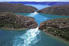 Experience the thrill of boating through the kimberley horizontal falls.
