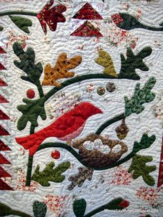 Detail of Birds of a feather by Blackbird Designs, by Moosebay Muses