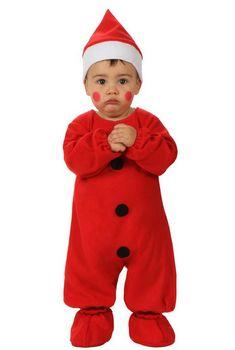 kerstmanpak voor baby's