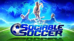 Designer of Cannon Fodder Microprose Soccer Sensible Soccer Wizball Parallax and Mega-Lo-Mania returns with Sociable Soccer (It's Faster Than F)