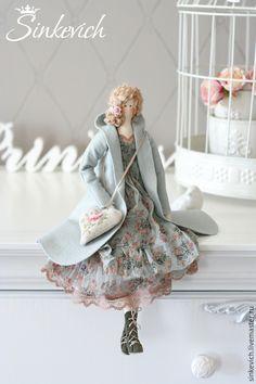 Купить Лаура - тильда, интерьерная кукла, кукла ручной работы, подарок на любой случай, для декора