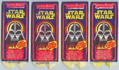 Lyons Maid Star Wars Ice Lolly Packaging