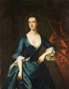 Mary (d.1771), Wife of John Baynes by John Vanderbank    Date painted: 1727