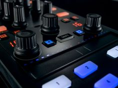 No turntable in sight: the touch strip controller for a digital deck. Kontrol X1 MK2 preview.