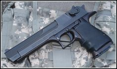 My favorite 'hand cannon' Magnum Research Desert Eagle .50AEFind our speedloader now!  http://www.amazon.com/shops/raeind