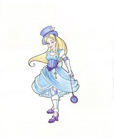 Steampunk Alice would be a fun twist on a traditional Alice running costume