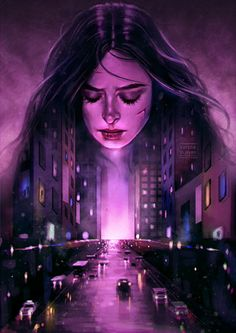 Purple City - Varsha Vijayan