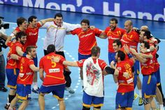 España, campeona del mundo de balonmano. (Spain, Handball champion of the world)