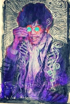 Jimi Hendrix by Bill Sienkiewicz *